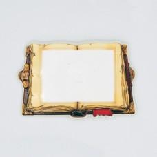 Керамическая заготовка для магнитов под вставку Книга