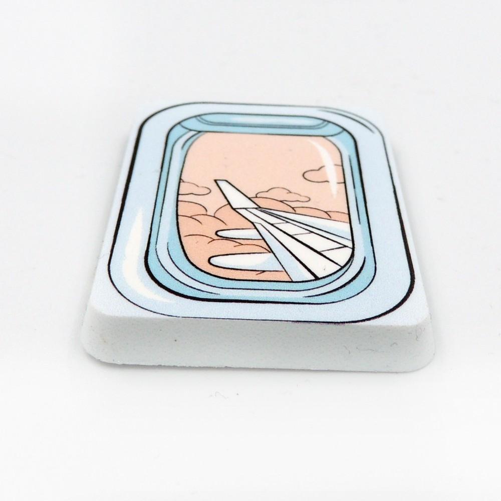 Мини поликерамический магнит Прямоугольник