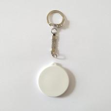 Поликерамический брелок круг с кольчугой под заказ