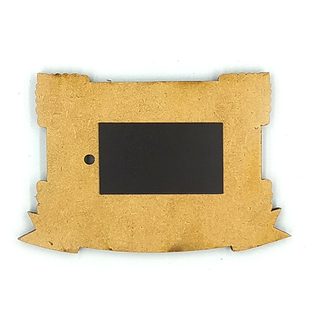 Деревянно-акриловая основа для магнитов №10
