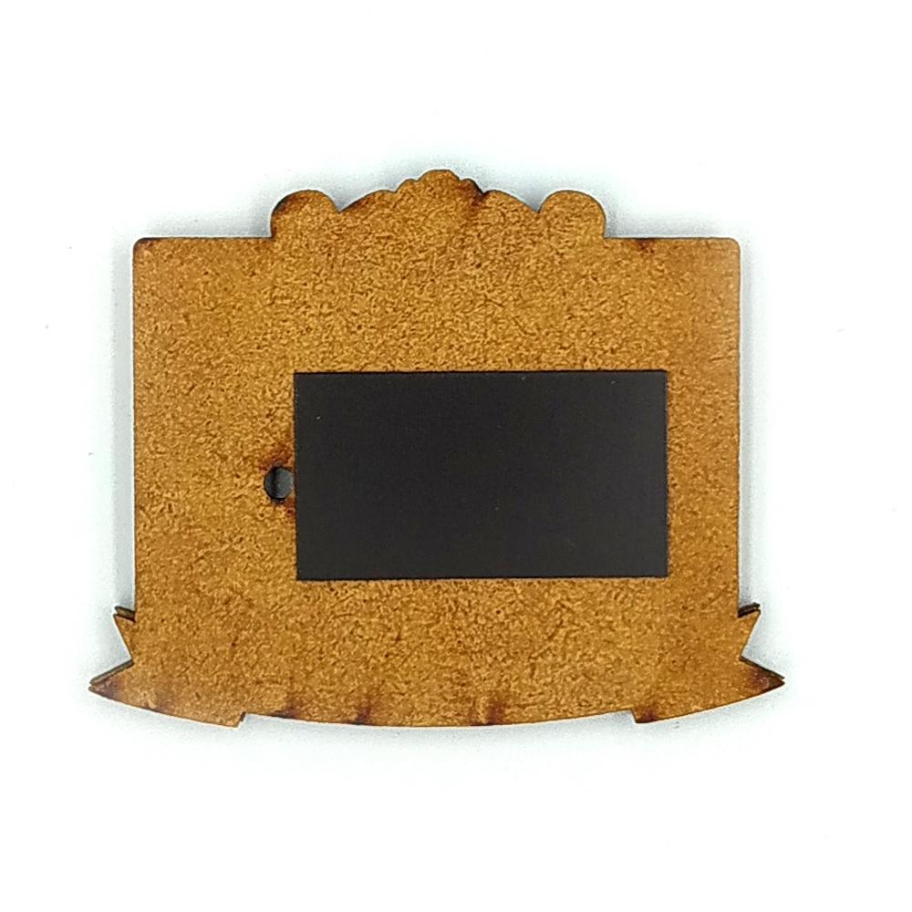 Деревянно-акриловая основа для магнитов №11