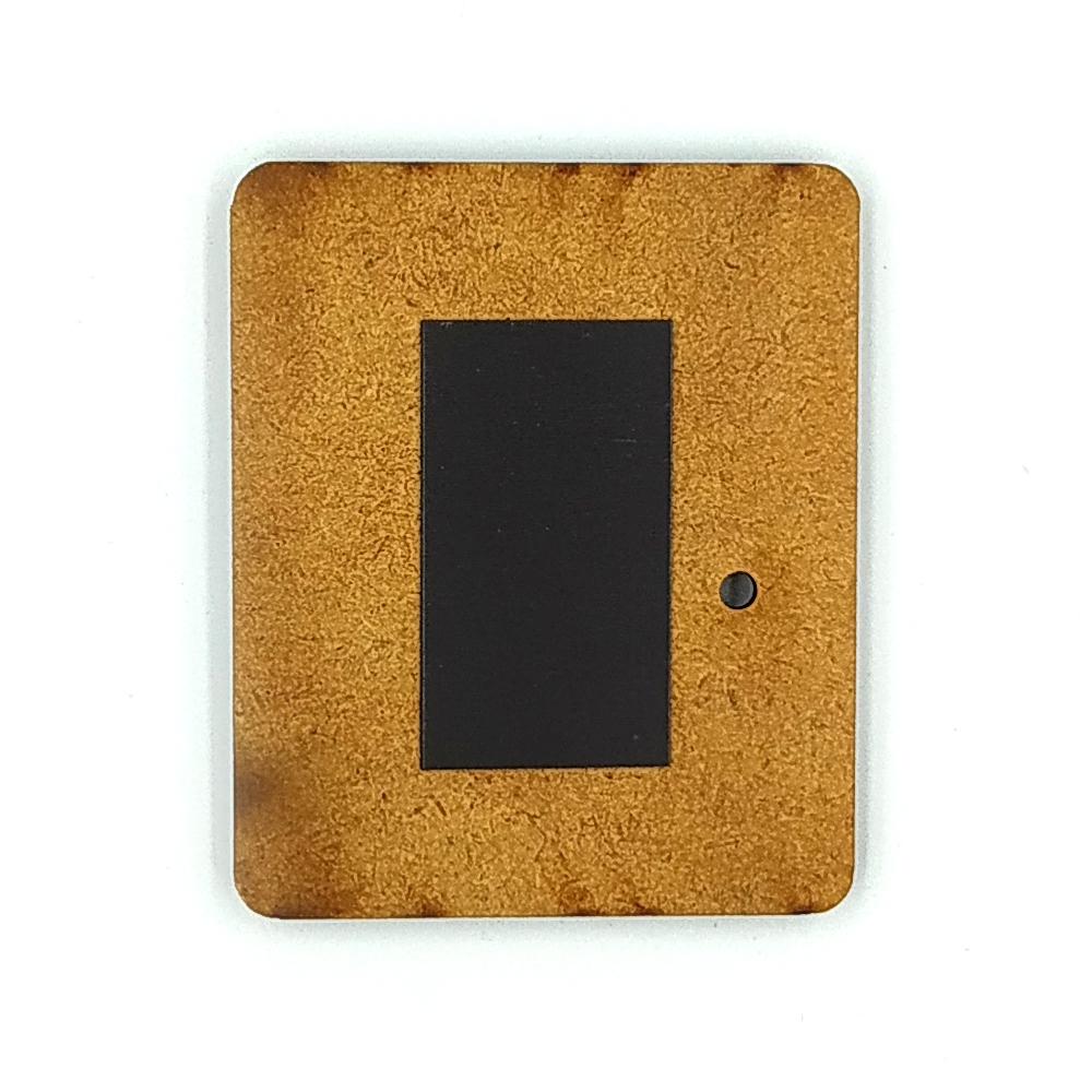 Деревянно-акриловая основа для магнитов №13