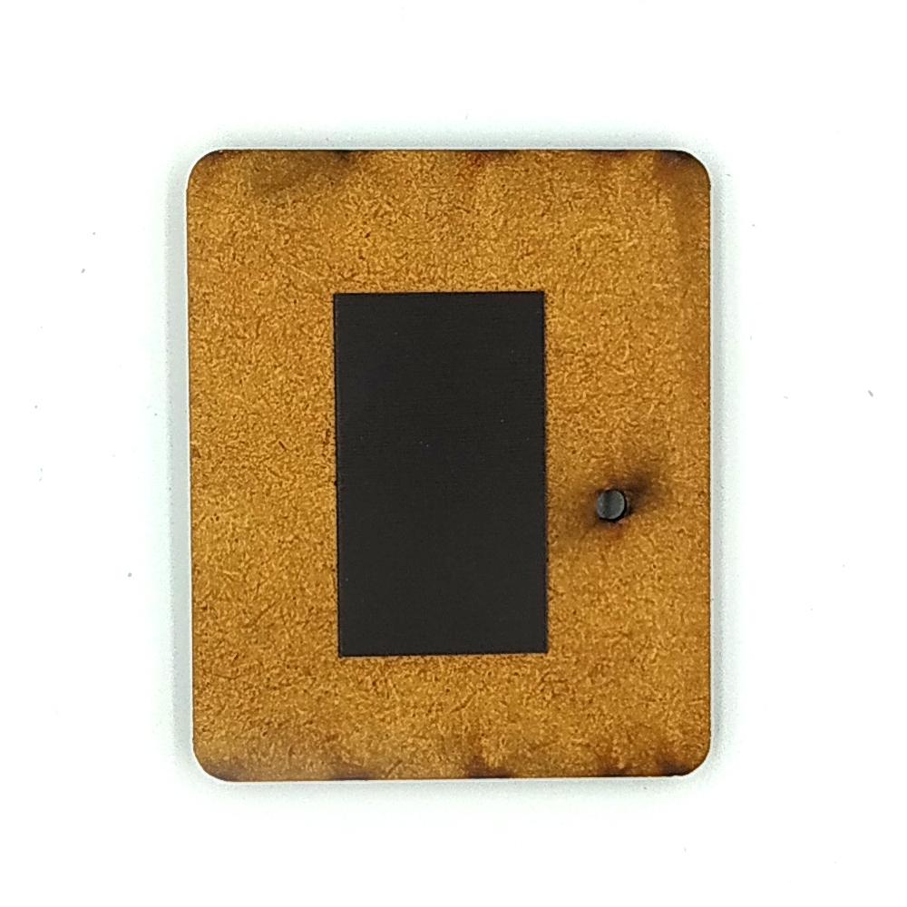 Деревянно-акриловая основа для магнитов №14