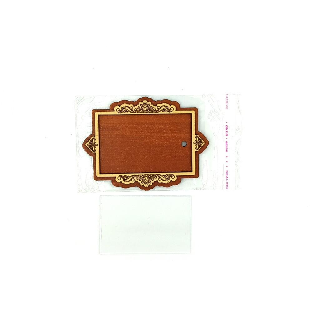 Деревянно-акриловая основа для магнитов №15