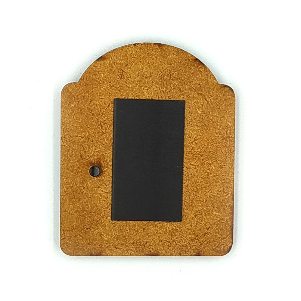 Деревянно-акриловая основа для магнитов №1