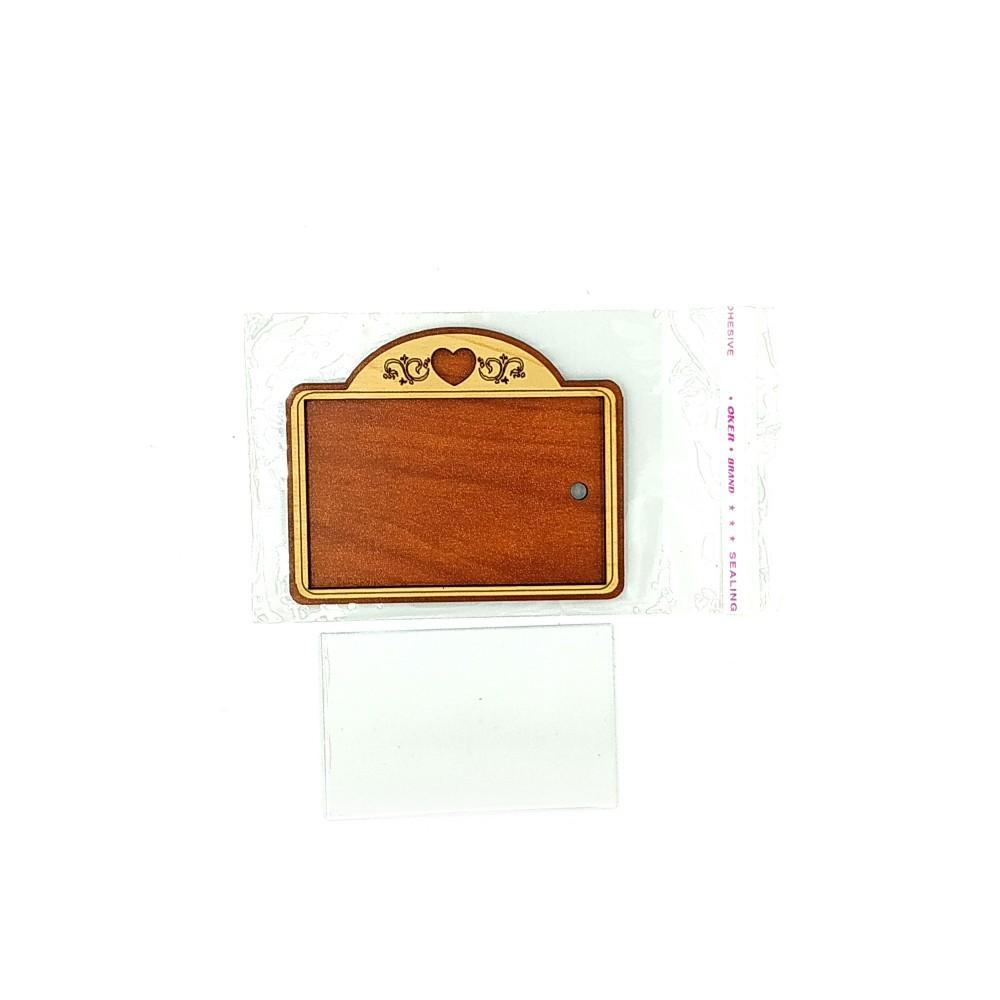 Деревянно-акриловая основа для магнитов №2
