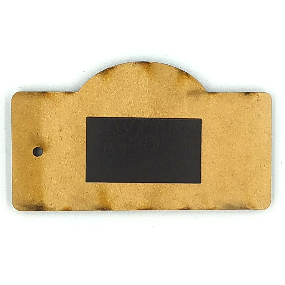 Деревянно-акриловая основа для магнитов №3