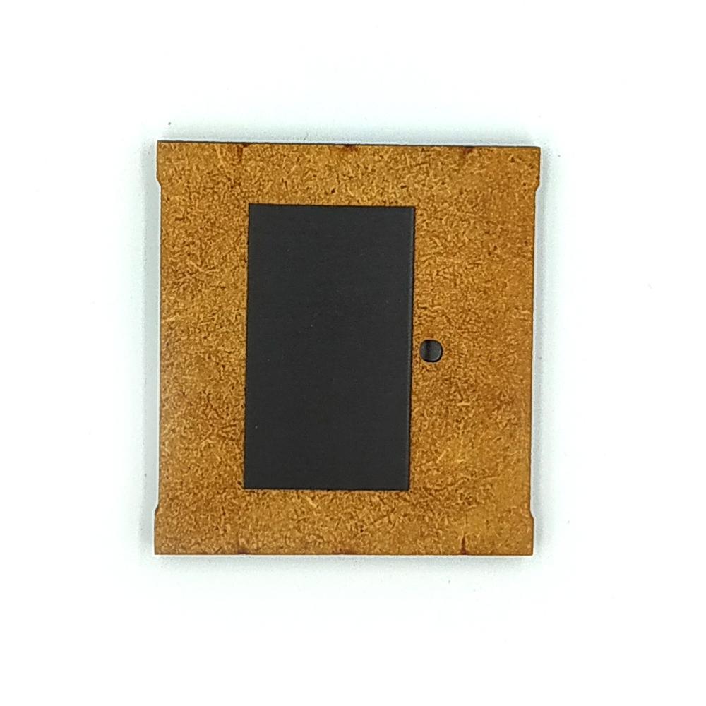 Деревянно-акриловая основа для магнитов №4