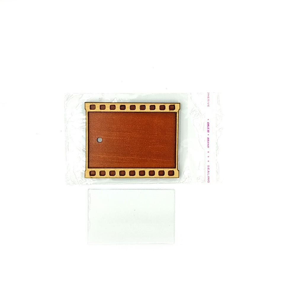 Деревянно-акриловая основа для магнитов №5
