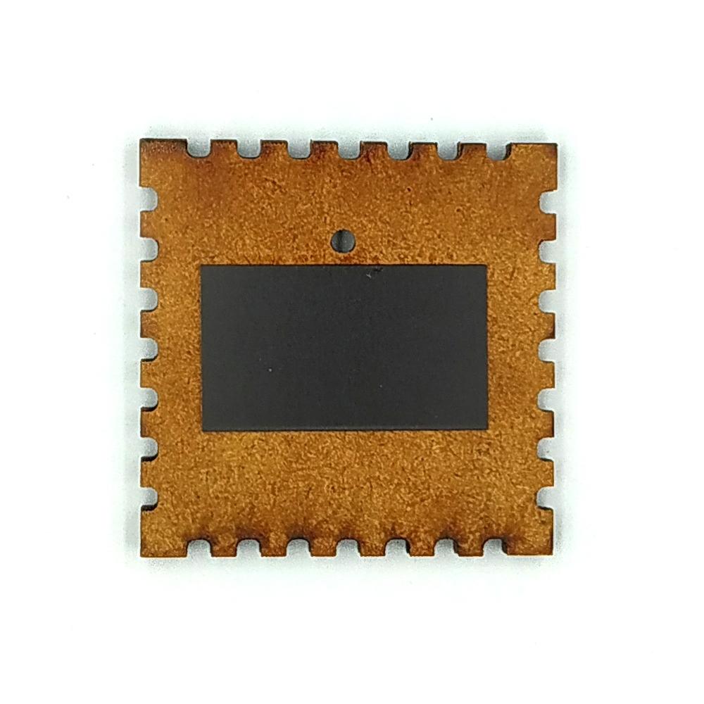 Деревянно-акриловая основа для магнитов №7