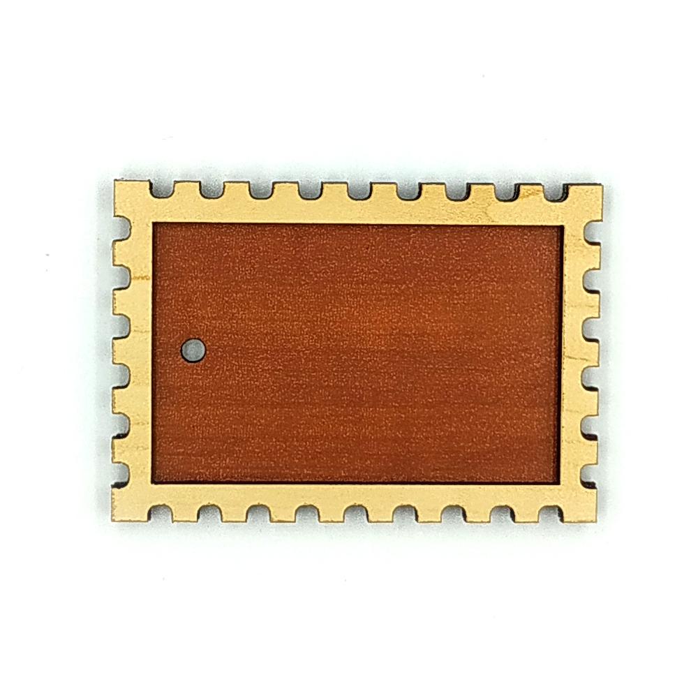 Деревянно-акриловая основа для магнитов №8