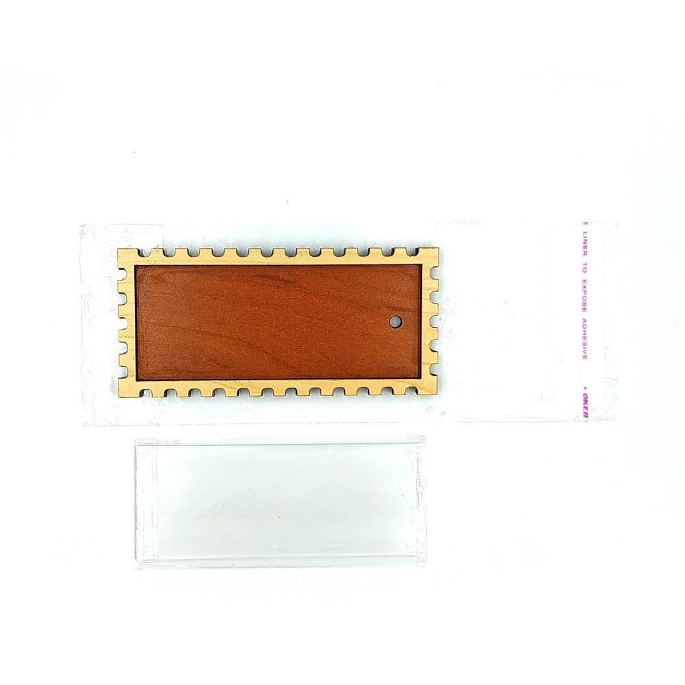Деревянно-акриловая основа для магнитов №9