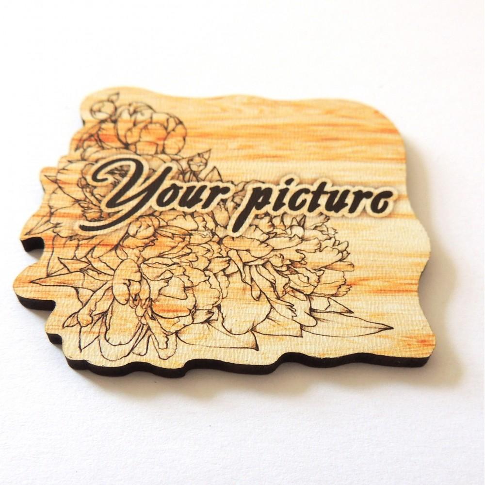 Фигурные магниты из дерева под заказ