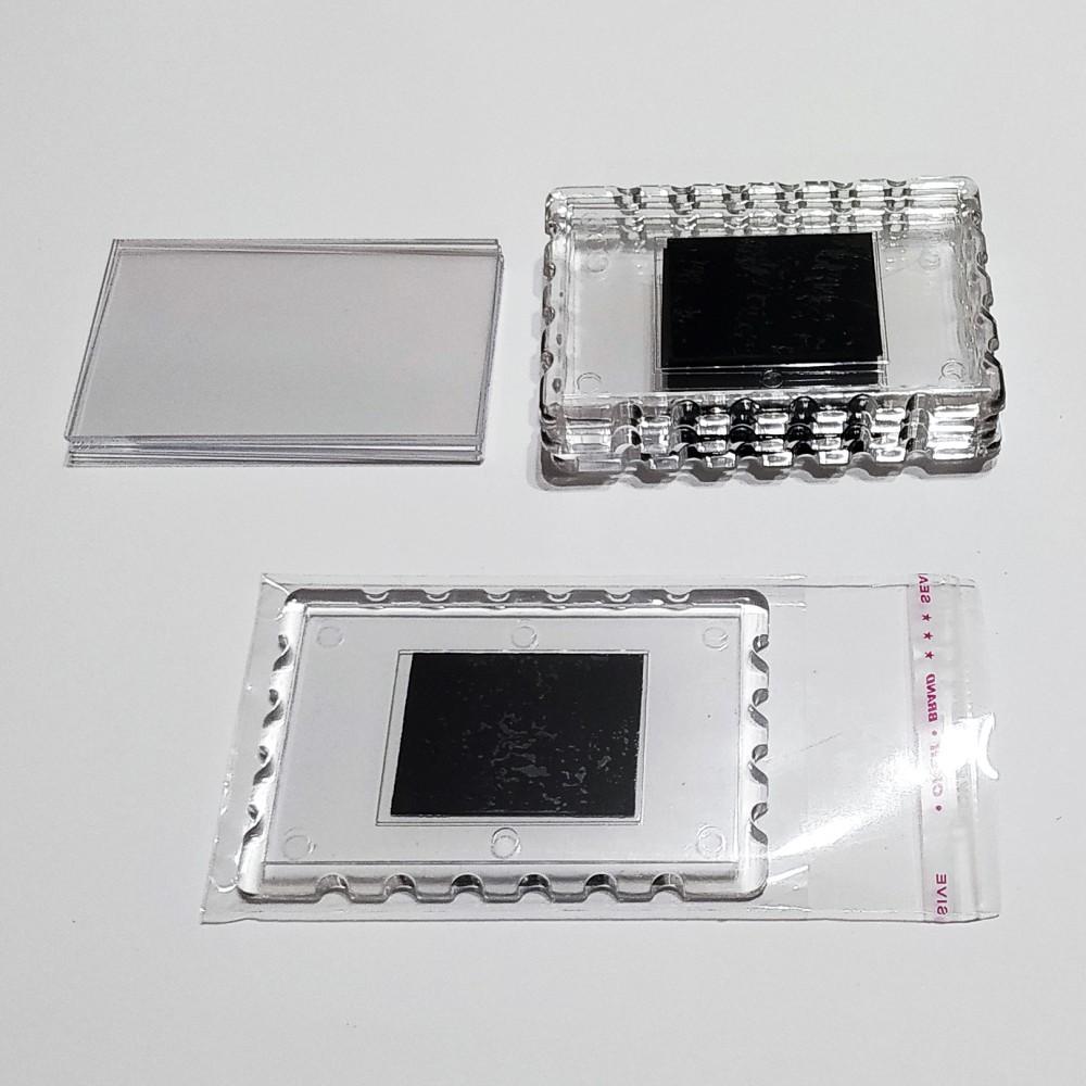 Акриловая заготовка для магнита Марка 78*52 мм прозрачная