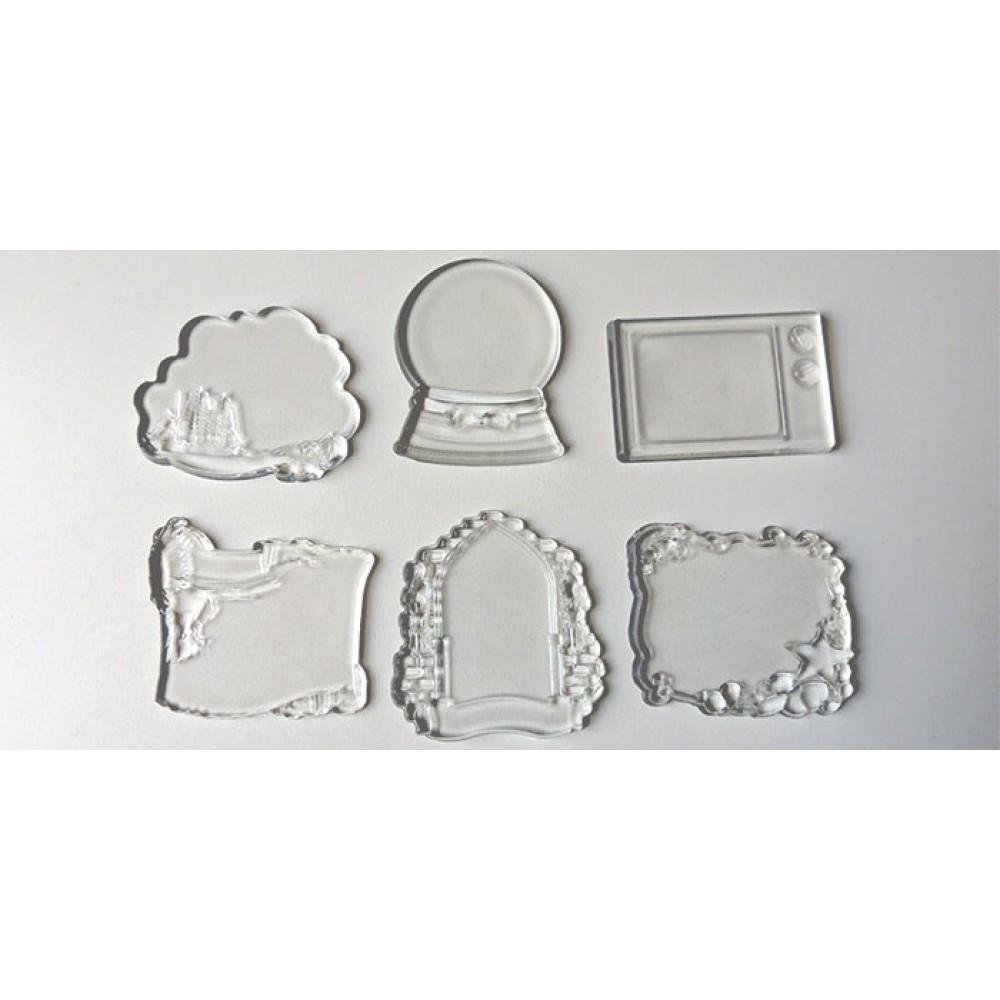 Прозрачный поликерамический магнит под заказ