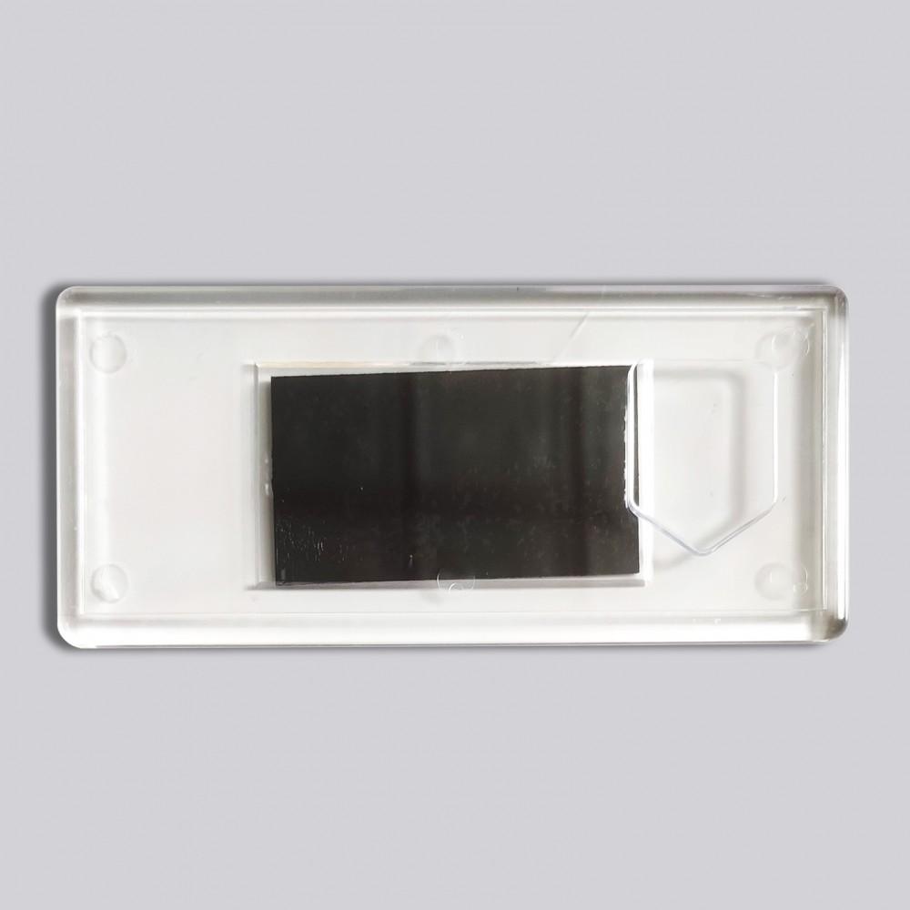 Акриловая заготовка для магнита Панорама Герб 108*48 мм