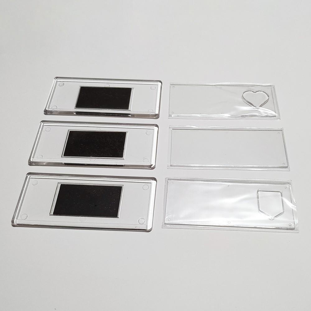Акриловая заготовка для магнита Панорама 108*48 мм
