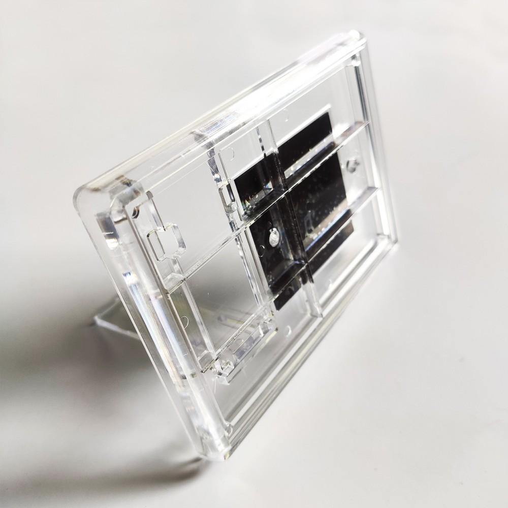 Акриловая фоторамка с магнитом 110*80 мм с ножкой