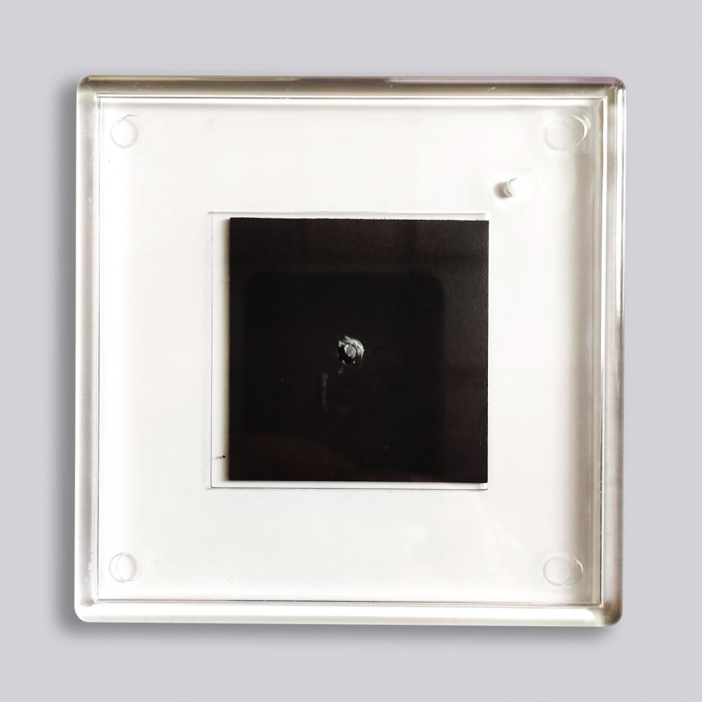 Акриловая заготовка для магнита 100*100 мм стандартная прозрачная