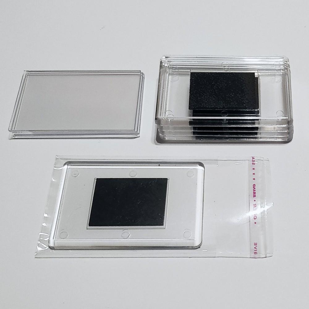 Акриловая заготовка для магнита 78*52 мм стандартная прозрачная