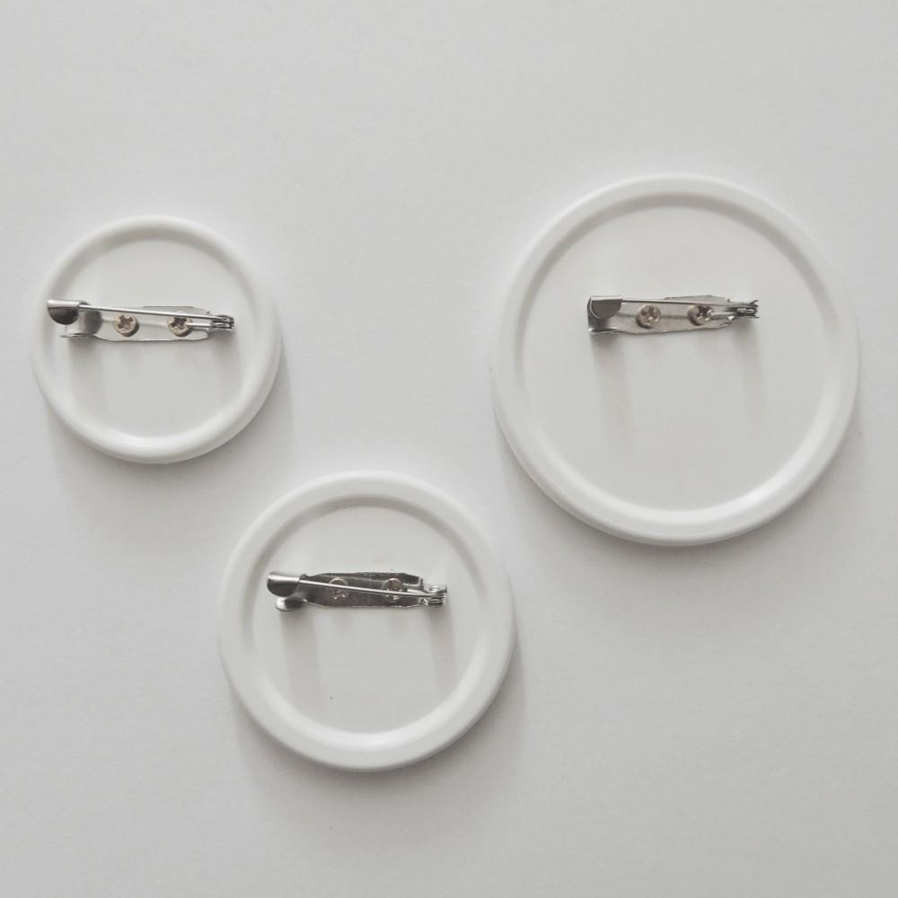 Поликерамический значок круг 56 мм