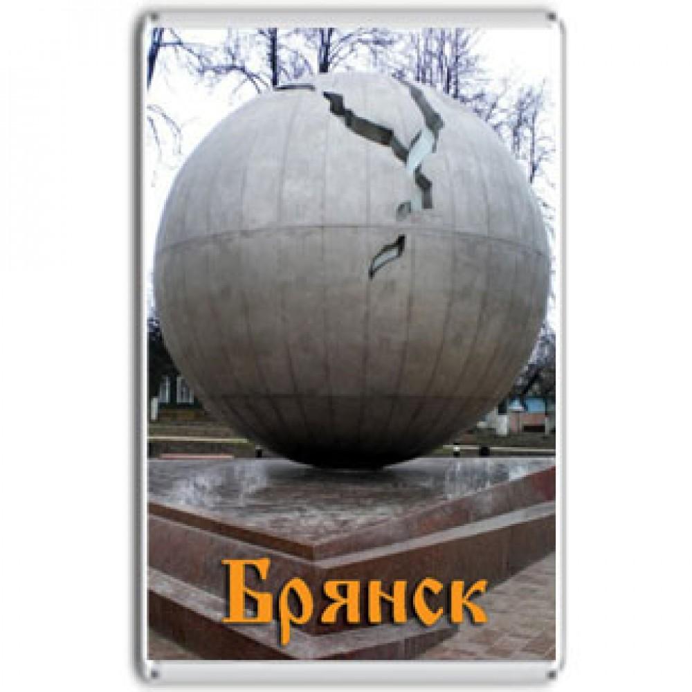 Акриловый магнит Брянск - Памятник жертвам Чернобыля