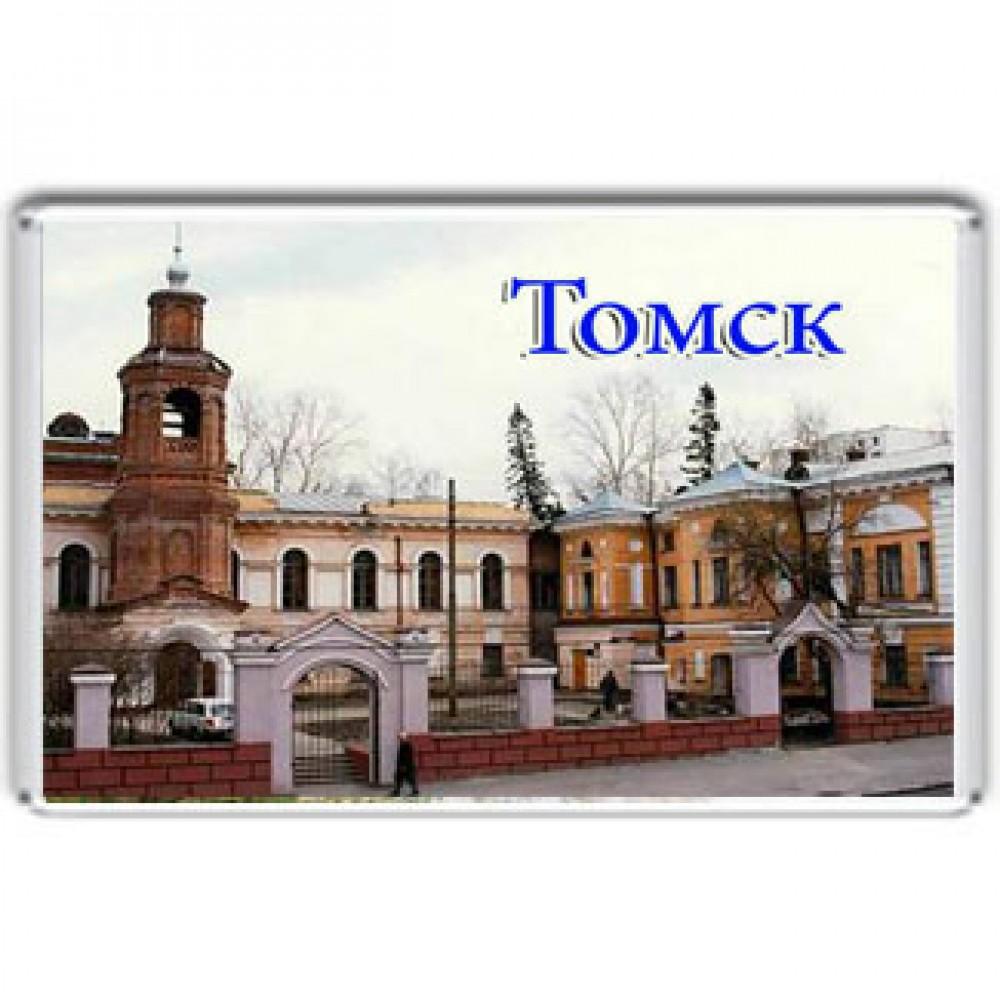 Акриловый магнит Томск - Краеведческий музей