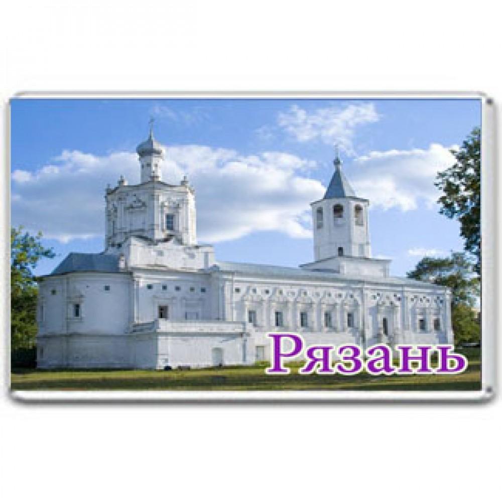 Акриловый магнит Рязань - Солотчинский  монастырь