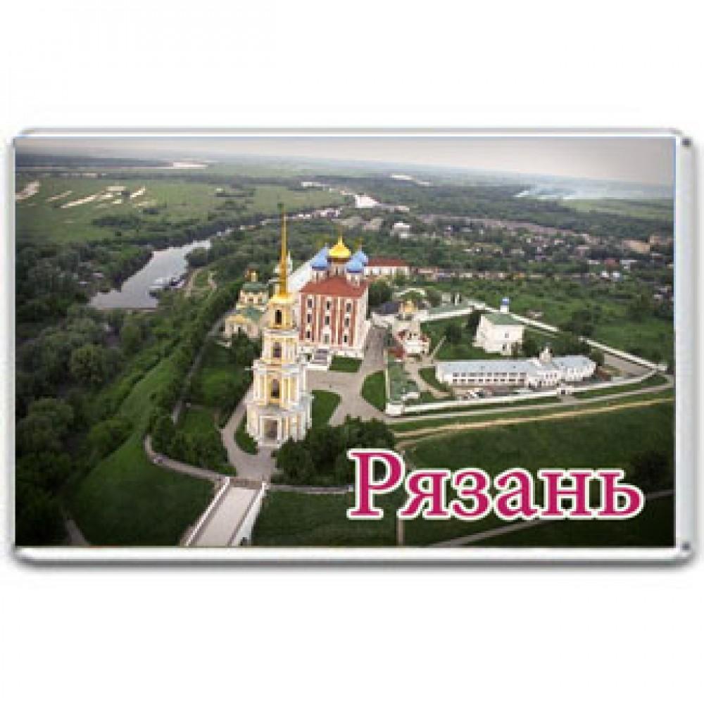 Акриловый магнит Рязань - Кремль