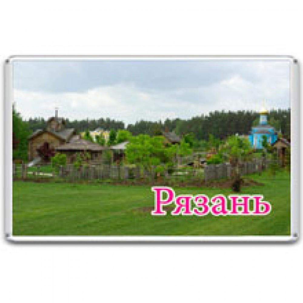 Акриловый магнит Рязань - Мещёрский национальный парк