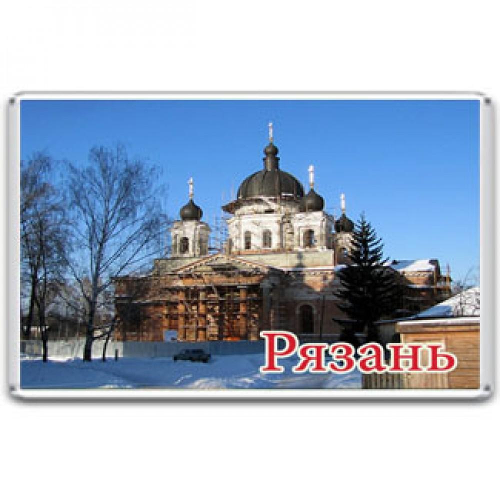 Акриловый магнит Рязань - Свято-Успенский Вышенский монастырь
