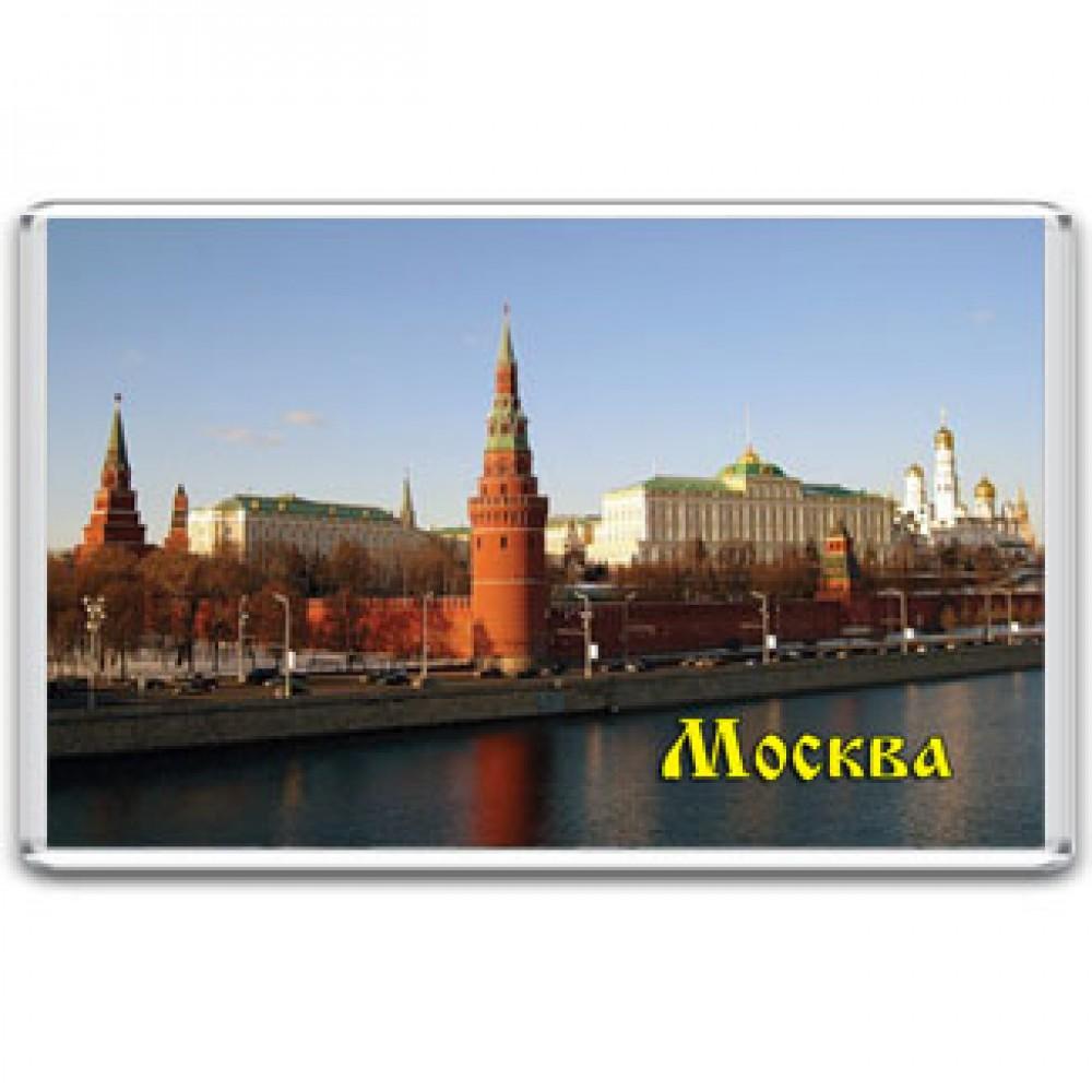Акриловый магнит Москва - Кремль