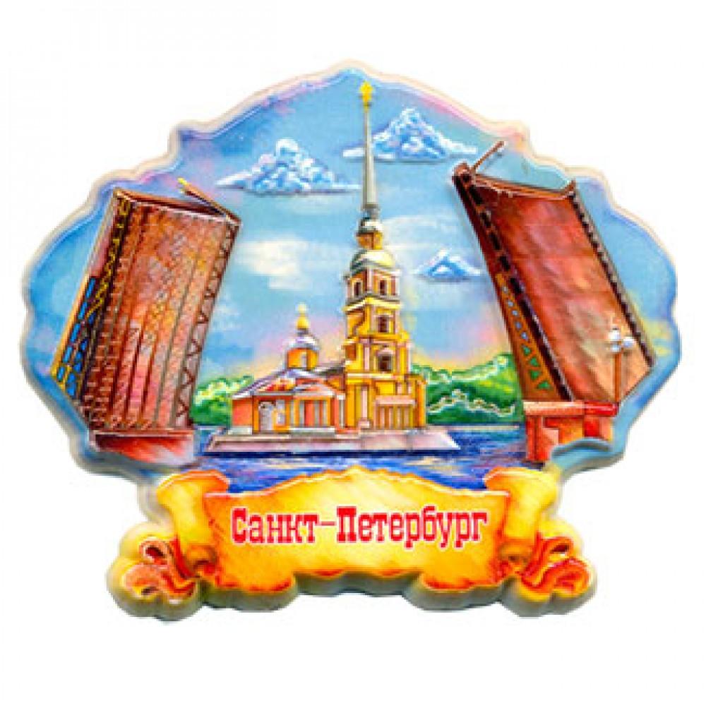 Керамические магниты на холодильник. Санкт-Петербург