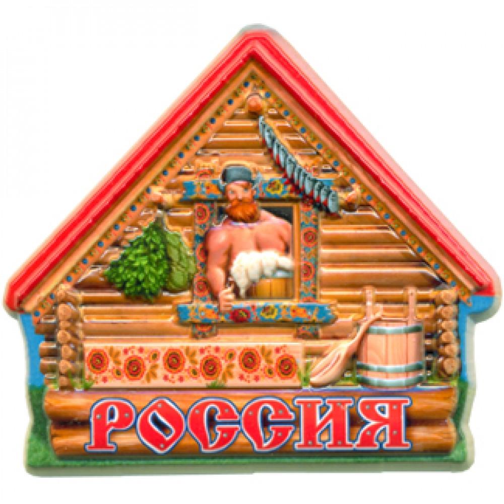 Керамические магниты. Русская баня