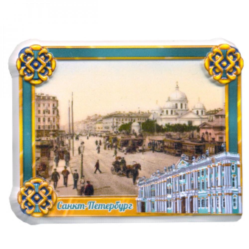 Керамические магниты. Старый город Санкт-Петербург