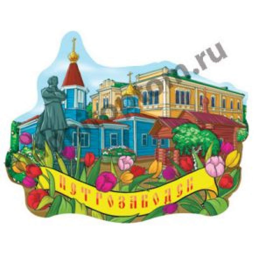 Магнитики из керамики. Петрозаводск