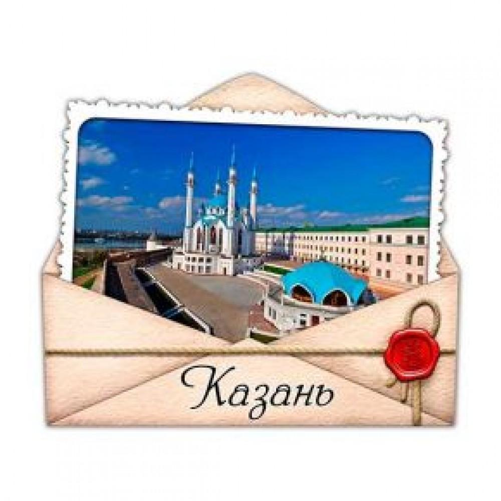 Керамические магниты. Казань. Конверт