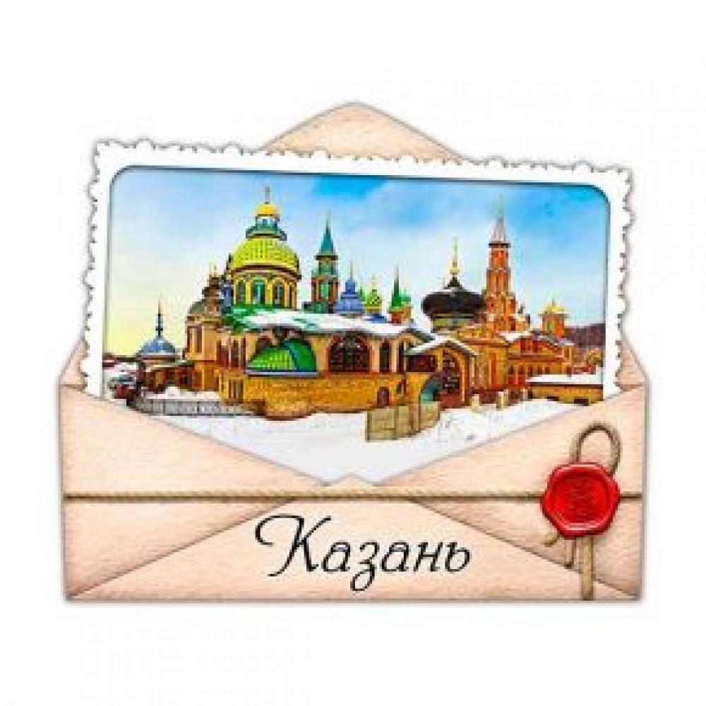 Керамические магниты. Казань. Храм