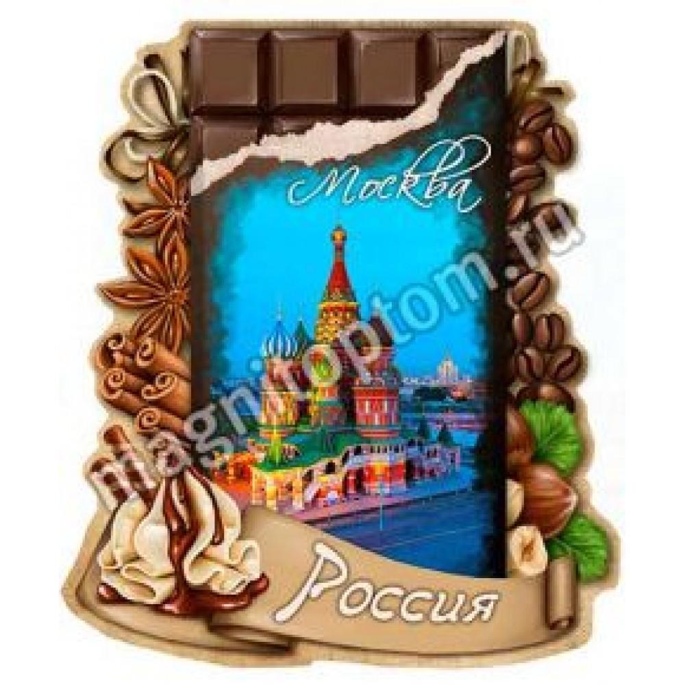 Керамические магниты. Шоколад, Москва