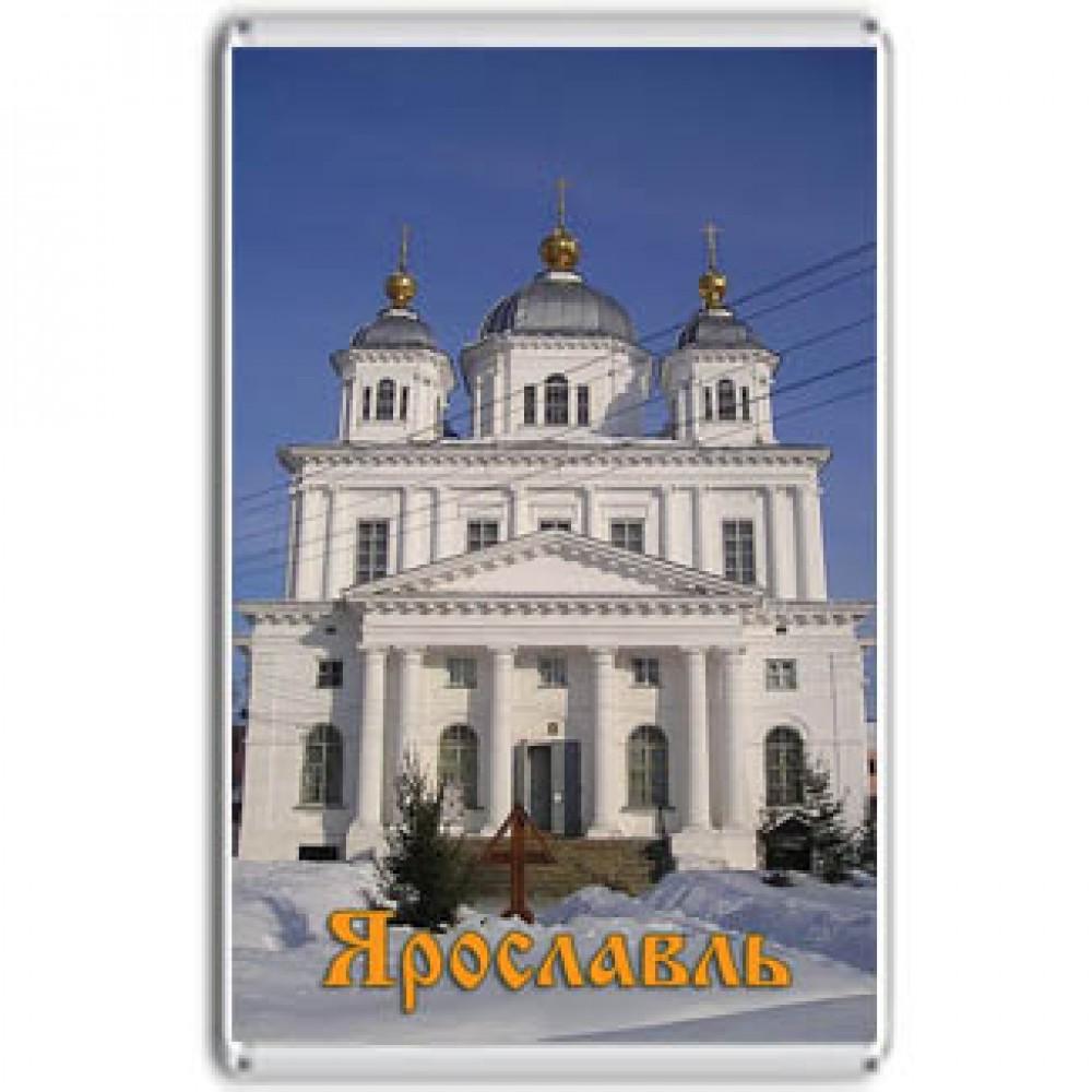 Акриловый магнит Ярославль - Казанский монастырь