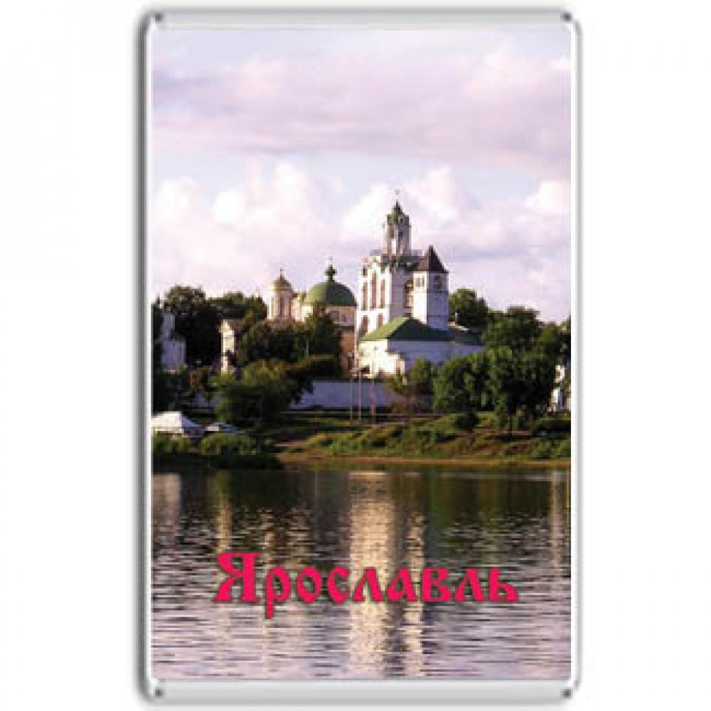 Акриловый магнит Ярославль - Спасо-Преображенский монастырь