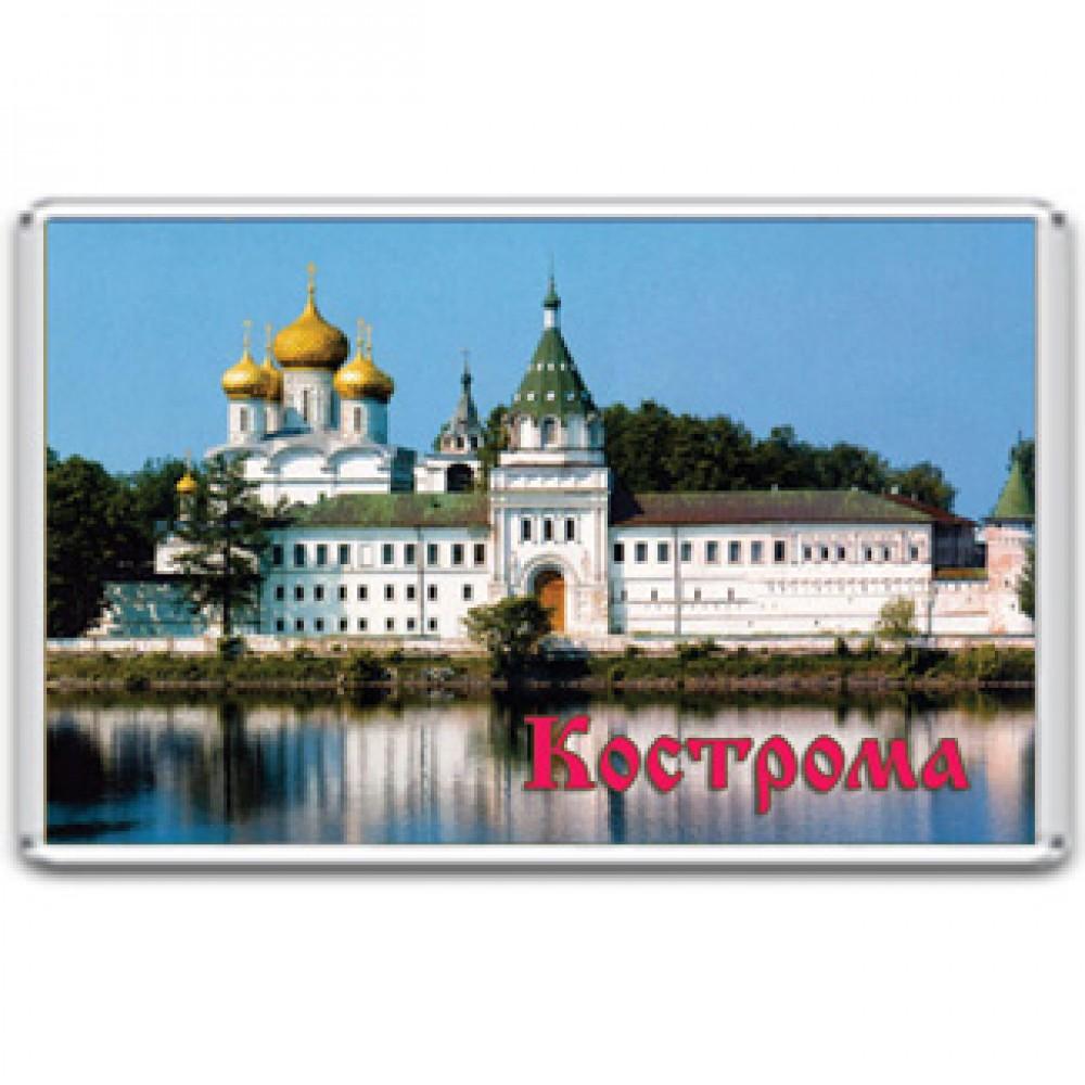 Акриловый магнит Кострома - Ипатьевский монастырь