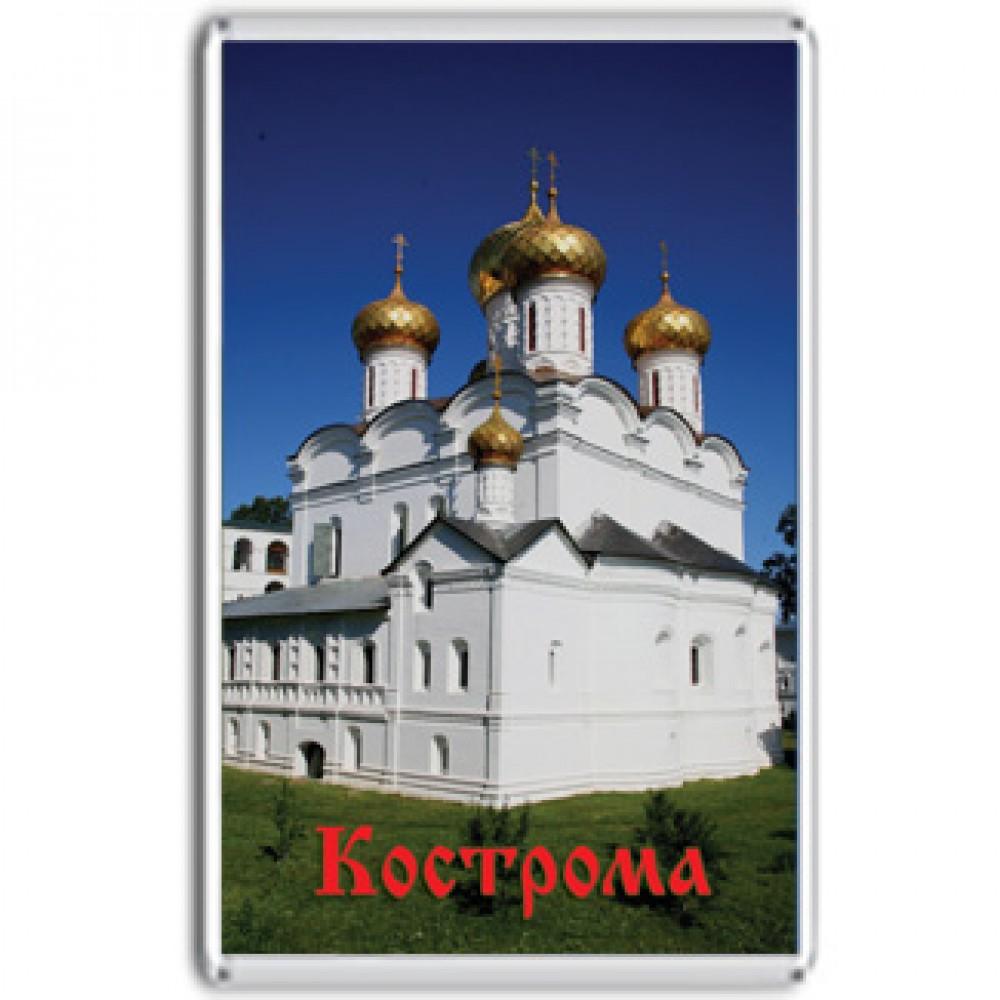 Акриловый магнит Кострома - магнитик Ипатьевский монастырь