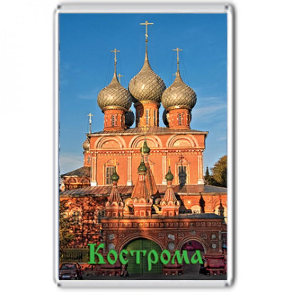 Акриловый магнит Кострома - Церковь Воскресения на Дебре