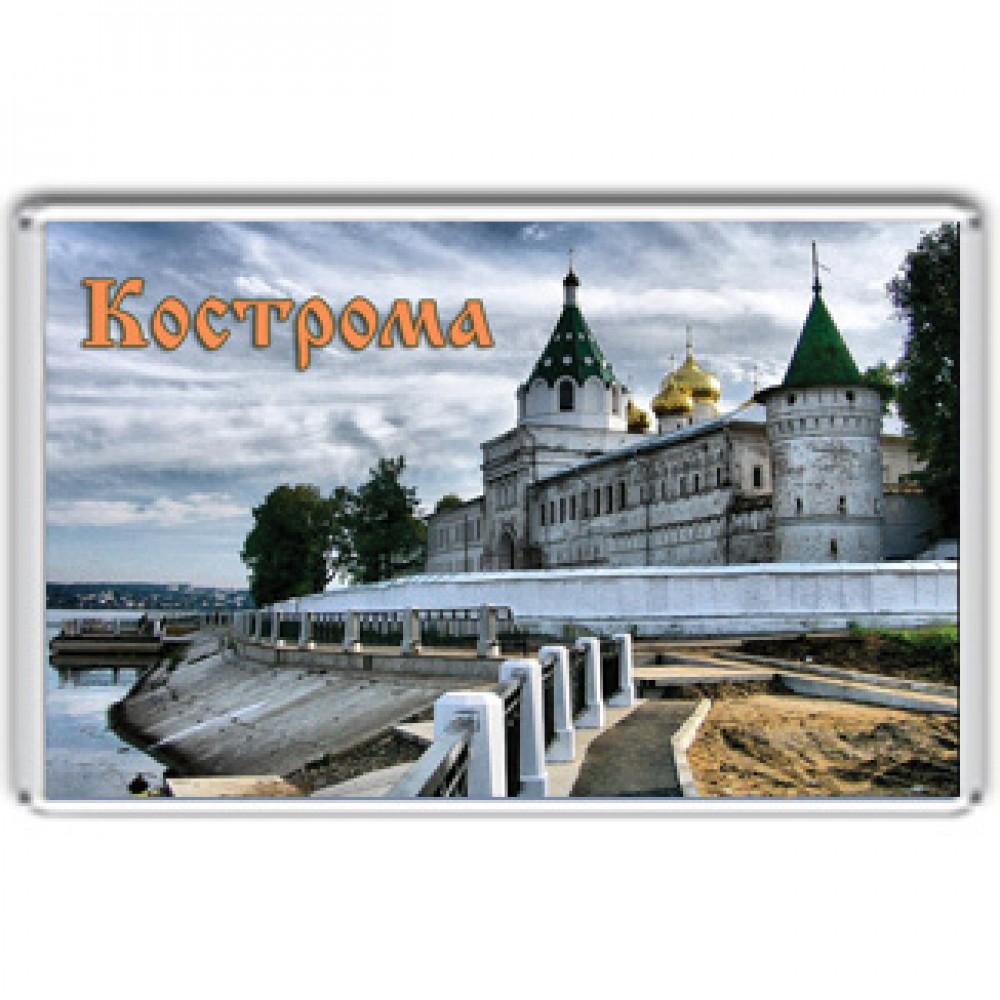 Акриловый магнит Кострома - Музей-заповедник «Костромская слобода»
